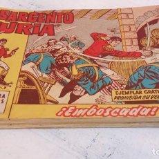 Tebeos: EL SARGENTO FURIA ORIGINAL 1962 - 31 TEBEOS - BRUGUERA - VER TODAS LAS PORTADAS. Lote 191465953