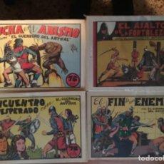 Tebeos: GUERRERO DEL ANTIFAZ, LOS 25 PRIMEROS NÚMEROS DE 75 CM.. Lote 140207042