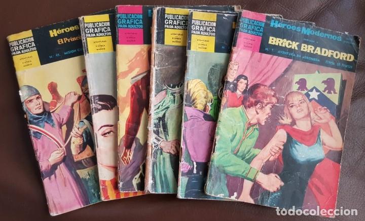 LOTE DE HÉROES MODERNOS (AÑOS 60) - VER FOTOS Y DESCRIPCIÓN (Tebeos y Comics - Tebeos Colecciones y Lotes Avanzados)
