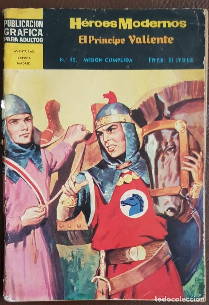 Tebeos: LOTE DE HÉROES MODERNOS (AÑOS 60) - VER FOTOS Y DESCRIPCIÓN - Foto 7 - 192228748