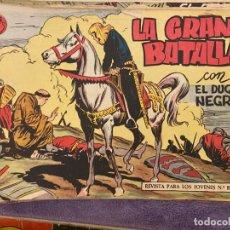 Livros de Banda Desenhada: EL DUQUE NEGRO LOTE DE . Lote 192402941