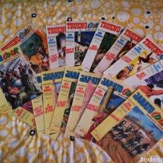 Tebeos: LOTE DE 15 COMICS TRUENO COLOR Y JABATO COLOR. Lote 192629425