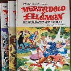Livros de Banda Desenhada: 3 ASES DEL HUMOR NºS, 1 - 10 - 11 - PRIMERAS EDICIONES 1969 - 1971(BRUGUERA) VER FOTOS Y DESCRIPCIÓN. Lote 192631971