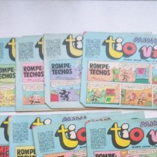 Tebeos: LOTE DE 10 MINI TIO VIVO Nº 8-9-10-11-12-17-18-19-20-23 BRUGUERA. Lote 192657757