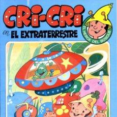 Tebeos: LOTE 4 COMICS CRI-CRI. EL HÉROE DEL BOSQUE. Lote 192725112