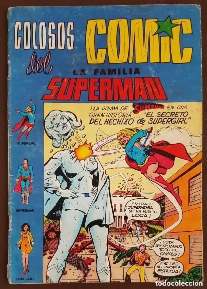 COLOSOS DEL CÓMIC - LA FAMILIA SUPERMAN, Nº 4, - VER DESCRIPCIÓN (Tebeos y Comics - Tebeos Colecciones y Lotes Avanzados)