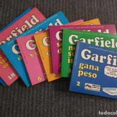Tebeos: LOTE DE 8 TEBEOS/ COMICS DE GARFIELD.JIM DAVIS.TOMOS 2,3,4,5,6,7,18 Y 19 DE LA COLECCION DE GARFIELD. Lote 193265472