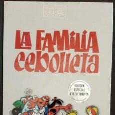 Tebeos: LA FAMILIA CEBOLLETA, CLÁSICOS DEL HUMOR, RBA EDICIONES (EXCELENTE) PRECINTADO. Lote 193293027