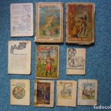 BDs: ANTIGUO LIBROS Y TEBEOS DE CALLEJA Y OTROS. Lote 193626722