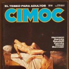 Tebeos: CIMOC Nº 44 - EXCELENTE, VER FOTOS. Lote 193737062