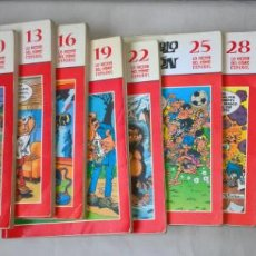 Tebeos: COMIC: MORTADELO Y FILEMON. BIBLIOTECA EL MUNDO. 13 TOMOS. Lote 194089100