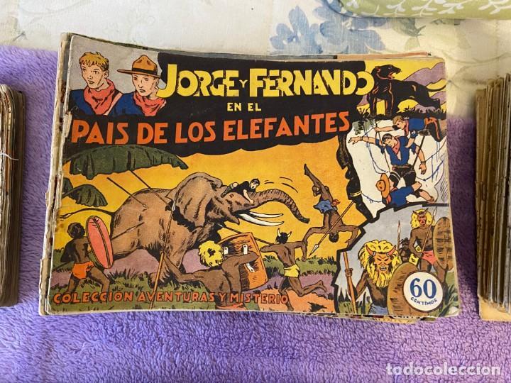 JORGE Y FERNANDO PRIMERA PARTE 27 NUMEROS COMPLETA (Tebeos y Comics - Tebeos Colecciones y Lotes Avanzados)