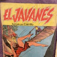 Tebeos: EL JAVANES Nº 3. Lote 194103107