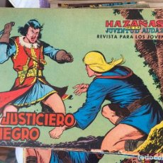 Tebeos: EL JUSTICIERO NEGRO COMPLETA A FALTA DEL Nº 23 SE VENDEN SUELTOS. Lote 194110500