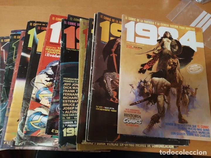 LOTE DE 17 CÓMIC 1984 (Tebeos y Comics - Tebeos Colecciones y Lotes Avanzados)