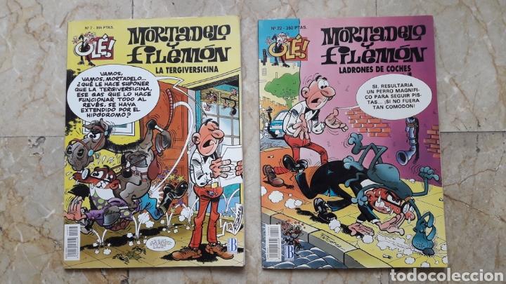 MORTADELO Y FILEMÓN-OLÉ (Tebeos y Comics - Tebeos Pequeños Lotes de Conjunto)
