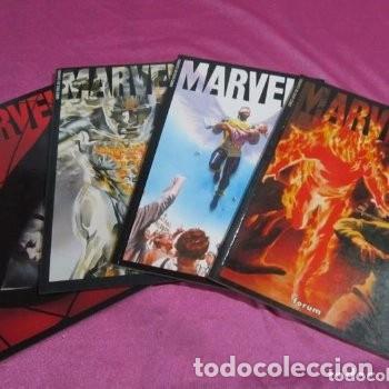 MARVELS 4 TOMOS COMPLETA FORUM EXCELENTE ESTADO C 58 (Tebeos y Comics - Tebeos Colecciones y Lotes Avanzados)
