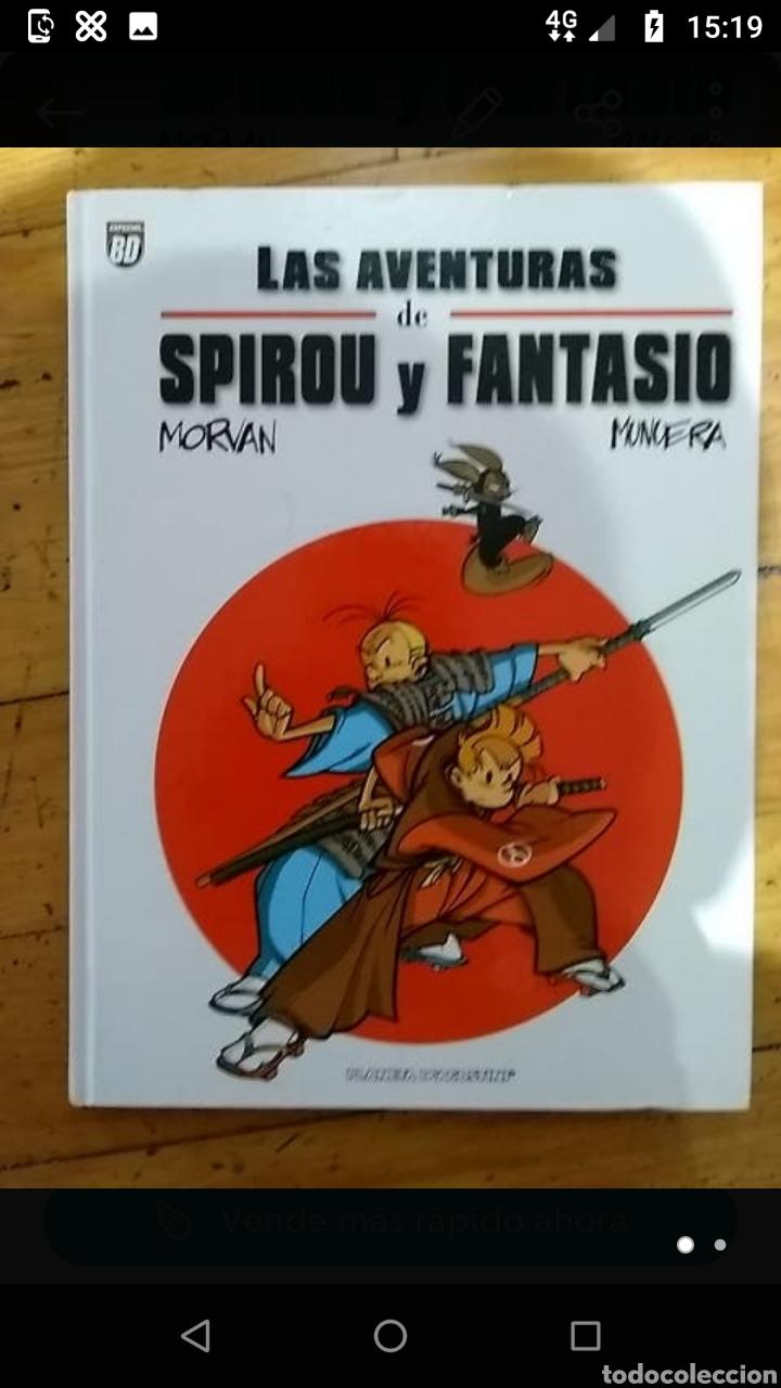SPIROU Y FANTASIO MORVAN Y MUNUERA PLANETA (Tebeos y Comics - Tebeos Colecciones y Lotes Avanzados)