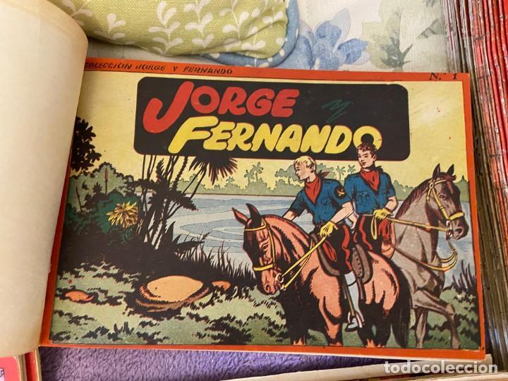 JORGE Y FERNANDO CONTIENE LOS SEIS PRIMEROS TOMOS DEL Nº 1 AL Nº 6 MUY BUEN ESTADO (Tebeos y Comics - Tebeos Colecciones y Lotes Avanzados)
