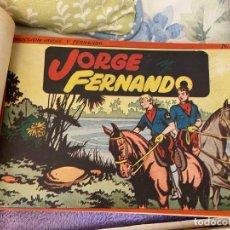 Tebeos: JORGE Y FERNANDO CONTIENE LOS SEIS PRIMEROS TOMOS DEL Nº 1 AL Nº 6 MUY BUEN ESTADO. Lote 194220650