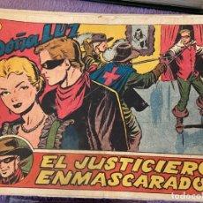 Tebeos: EL JUSTICIERO ENMASCARADO Nº 2-3-4-5-6-7-8-9-10-11-12-15-16-17-19-21-29-31 Y 34 SE VENDEN SUELTOS. Lote 194221390