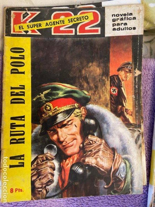 AGENTE O SUPER AGENTE K 22 PONGO TITULOS EN DESCRIPCION 5 NUMEROS (Tebeos y Comics - Tebeos Colecciones y Lotes Avanzados)