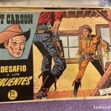 Tebeos: KIT CARSON Nº 3-4-5 Y 6 SE VENDEN SUELTOS. Lote 194261791