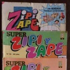 Tebeos: 2 SUPER ZIPI ZAPE Y 1 ZIPI ZAPE - VER FOTOS. Lote 194269011