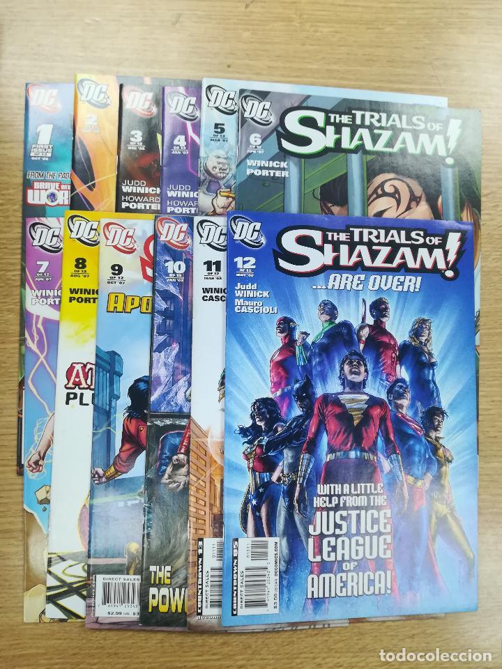 TRIALS OF SHAZAM COLECCIÓN COMPLETA (12 NUMEROS) (Tebeos y Comics - Tebeos Colecciones y Lotes Avanzados)