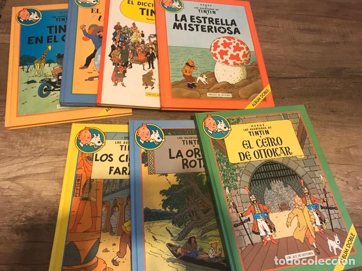 COLECCIÓN LAS AVENTURAS DE TINTÍN (Tebeos y Comics - Tebeos Colecciones y Lotes Avanzados)