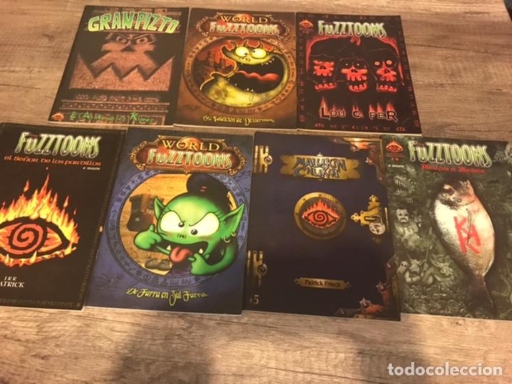 FUZZTOONS (Tebeos y Comics - Tebeos Colecciones y Lotes Avanzados)
