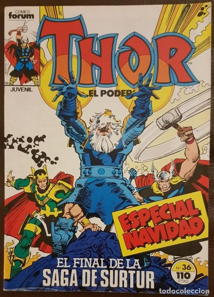 FORUM, VOL. 1 - THOR EL PODEROSO Nº 36 (1983) (Tebeos y Comics - Tebeos Colecciones y Lotes Avanzados)