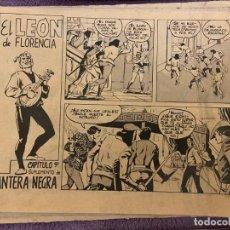 Tebeos: EL LEON DE FLORENCIA CAPITULO Nº 2-8-9- SE VENDEN SUELTOS. Lote 194552608