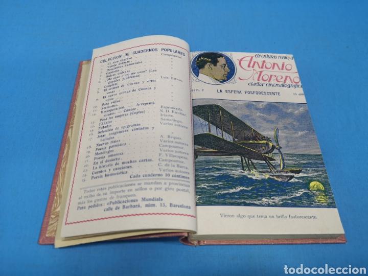 AVENTURAS DE ANTONIO MORENO, 16 NÚMEROS ENCUADERNADOS. AÑOS 30 (Tebeos y Comics - Tebeos Colecciones y Lotes Avanzados)