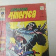 Tebeos: CAPITÁN AMÉRICA MÁS MONSTRUO QUE HOMBRE V.3 NÚMERO 18 EDITORIAL MUNDI COMICS AÑO 1974. Lote 194630558