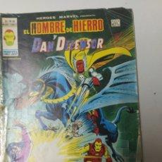 Tebeos: EL HOMBRE DE HIERRO Y DAN DEFENSOR MUNDI COMICS 1974. Lote 194632796