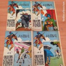 Tebeos: ANIBAL COLECCIÓN ORIGINAL EDITORIAL GALAOR.. Lote 194638830