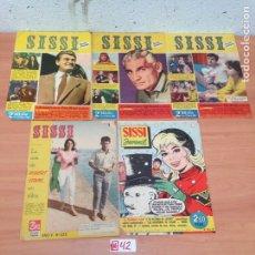 Tebeos: LOTE DE TEBEOS SISSI. Lote 194639040