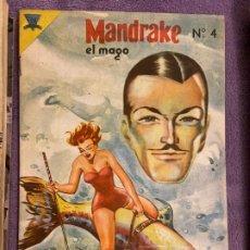 Tebeos: MANDRAKE EL MAGO Nº 4 BUEN ESTADO. Lote 194648067