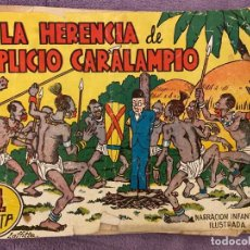 Tebeos: MARRACION ILUSTRADA INFANTIL LA HERENCIA DE SIMPLICIO CARALIMPIO . Lote 194744700