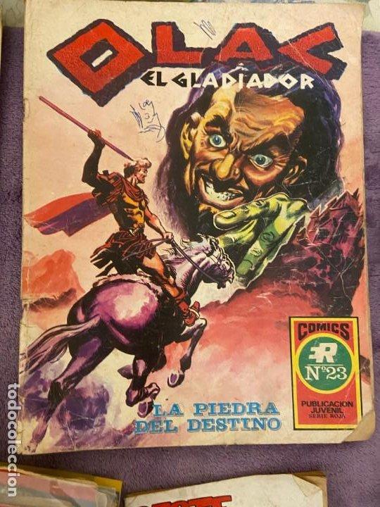OLAC EL GLADIADOR Nº 23 (Tebeos y Comics - Tebeos Pequeños Lotes de Conjunto)