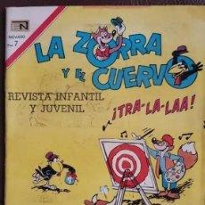 Tebeos: LA ZORRA Y EL CUERVO - NOVARO, 1970, Nº 243. Lote 194751928