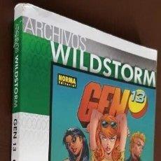 Tebeos: ARCHIVOS WILDSTORM - GEN 13, VOL. 2, TOMO Nº 03 (2009). Lote 194873147