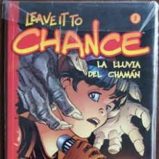 Tebeos: LEAVE IT TO CHANCE, TOMO Nº 1 - LA LLUVIA DEL CHAMAN - (EXCELENTE). Lote 194873487