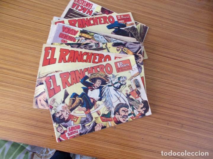 EL RANCHERO LOTE DE 30 NUMEROS EDITA MAGA (Tebeos y Comics - Tebeos Colecciones y Lotes Avanzados)
