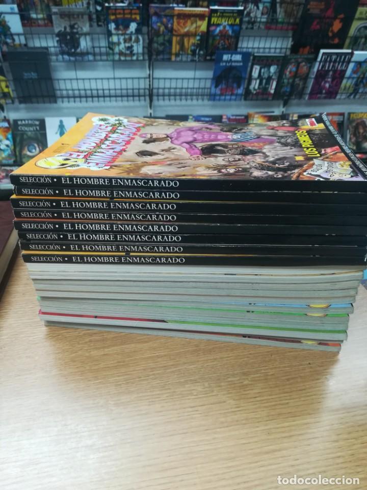 EL HOMBRE ENMASCARADO EDICION HISTORICA COLECCIÓN COMPLETA (74 NUMEROS EN 19 TOMOS) (Tebeos y Comics - Tebeos Colecciones y Lotes Avanzados)