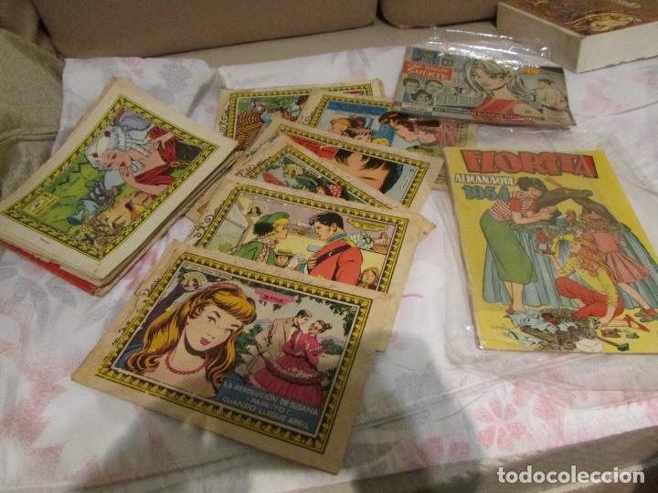 AZUZENA + FLORITA + GOLONDRINA + HEROINAS (Tebeos y Comics - Tebeos Pequeños Lotes de Conjunto)