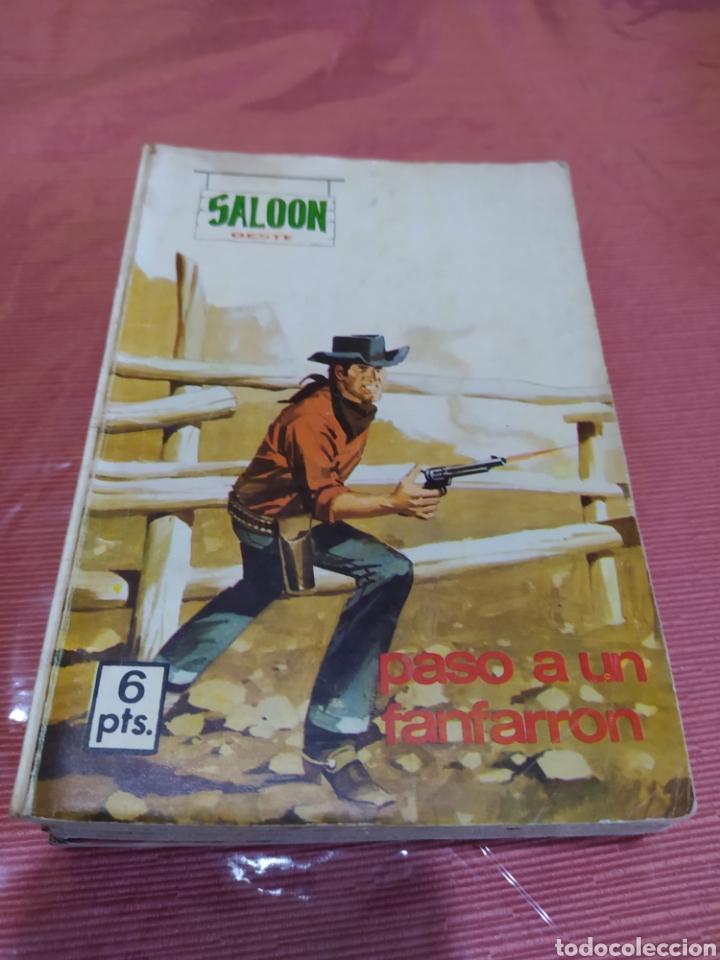 SALOON OESTE, PASO A UN FANFARRÓN (Tebeos y Comics - Tebeos Colecciones y Lotes Avanzados)