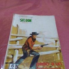 Tebeos: SALOON OESTE, PASO A UN FANFARRÓN. Lote 194935310