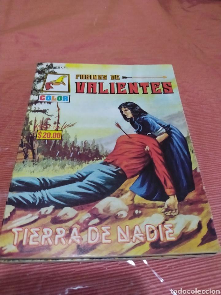 PAGINAS DE VALIENTES. TIERRA DE NADIE (Tebeos y Comics - Tebeos Colecciones y Lotes Avanzados)